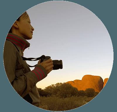 Visit the Uluṟu Kata Tjuṯa Cultural Centre